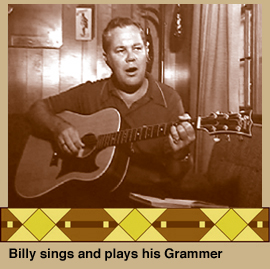 Billy plays his Grammer