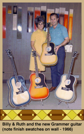 Billy & Ruth with Grammer guitars