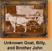 billy and goat